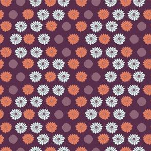 Retro Flower Power Pattern
