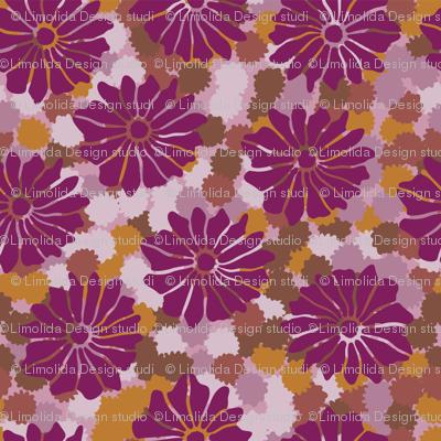 Bold Vintage Floral