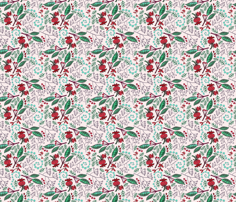 Late Autumn - Lavender fabric by denise_ortakales on Spoonflower - custom fabric