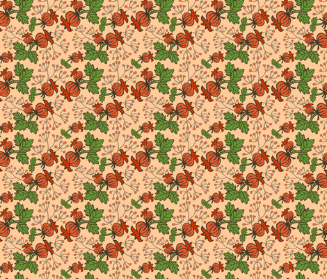 Early Autumn - Blush fabric by denise_ortakales on Spoonflower - custom fabric