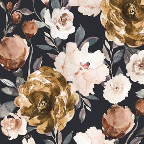 IBD Autumn Cocao Cream Peonies C