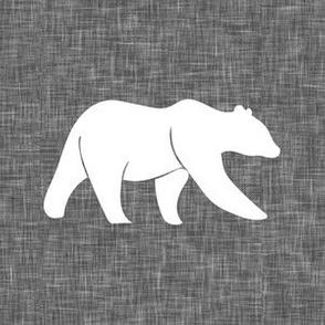 """6"""" bear quilt block B18BS"""