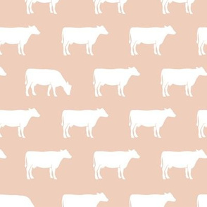 cows on blush