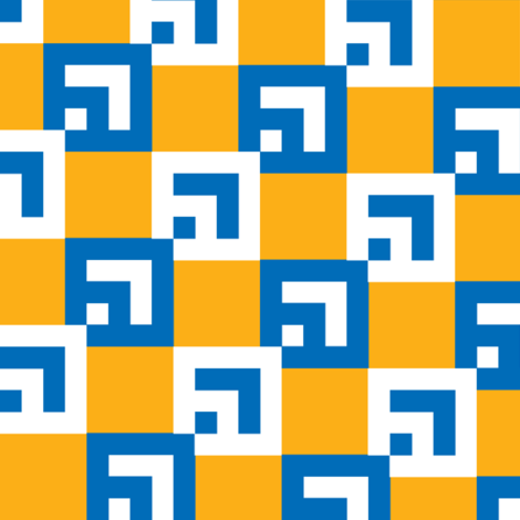 Dynasty BlueSunburst fabric by patternmutation on Spoonflower - custom fabric
