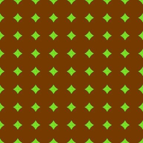 CD1 -  SM - Polkadot Solidarity in Brown and Lime Green