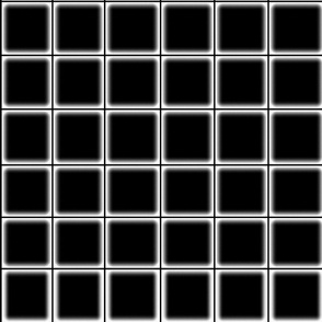 Haze Black Grid