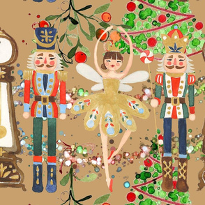 Christmas Gold Nutcracker