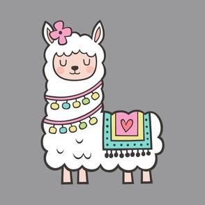Llama Alpaca Pillow Plush Plushie Softie Cut & Sew