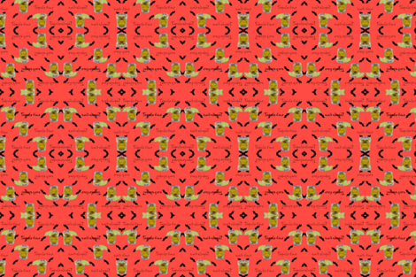 Tequila time fabric by omildom'sdesigns on Spoonflower - custom fabric