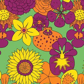 Flowerpower spring