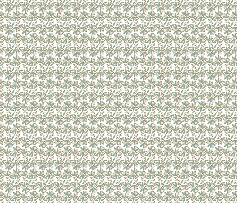 Topiary - White fabric by denise_ortakales on Spoonflower - custom fabric