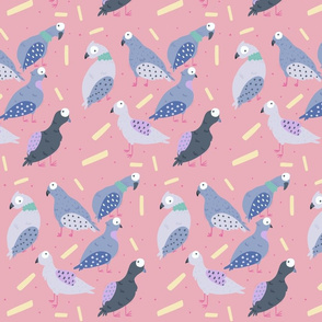 Pigeon &  Chips - Pink