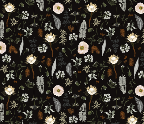 Elsa Meadow_Iveta Abolina  fabric by onesweetorange on Spoonflower - custom fabric