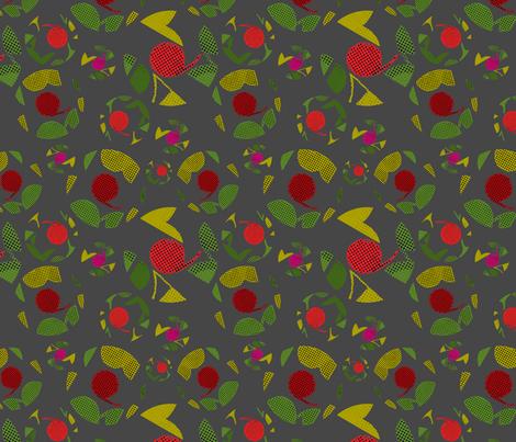 NightGarden fabric by karina-cutler-lake on Spoonflower - custom fabric