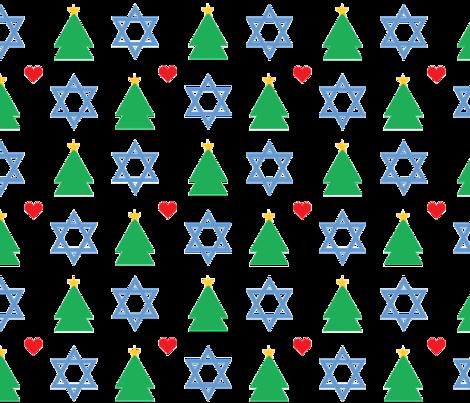 Happy_Holidays fabric by jessicamariefrancis on Spoonflower - custom fabric