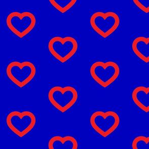 Phish Fishman Heart Donut Red Circles BRIGHT Colors