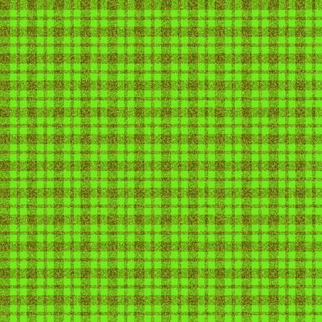 CD1 - Small Sparkly Olive and Lime plaid fabric by maryyx on Spoonflower - custom fabric