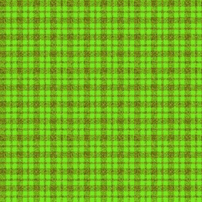 CD1 - Small Sparkly Olive and Lime plaid