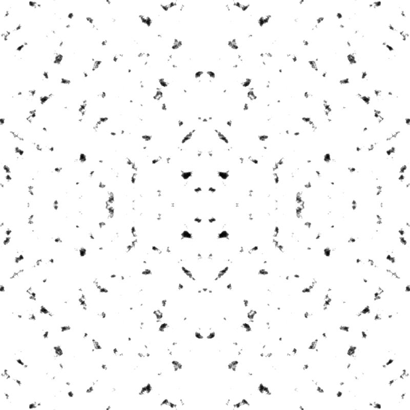 Black Flecks on White wallpaper - dixiemoon - Spoonflower