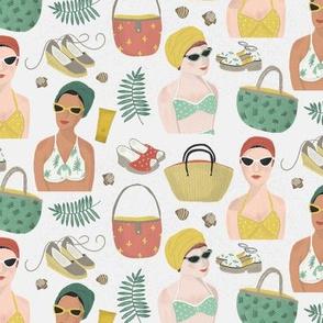 Vintage Beach Girls