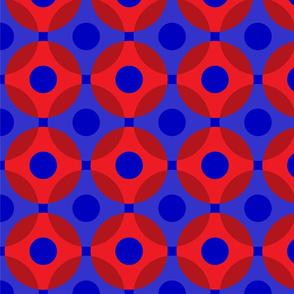 Phish Fishman Donut Circles Funky Coordinate BRIGHT Colors