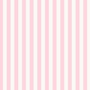 Pastel Pink and White Pinstripe