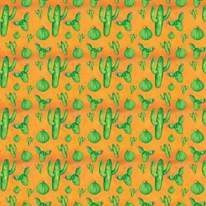 watercolor cactus design upload