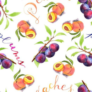 Peaches & Plums