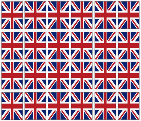 Flag of Britain fabric by noelleodesigns on Spoonflower - custom fabric