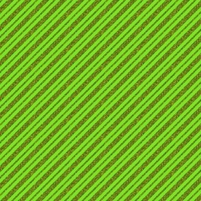CD1 - Narrow Sparkly Olive and Lime Stripes on the Diagonal