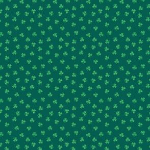 Polka Dot Shamrocks Small Scale