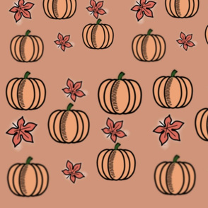 Fall in the Pumpkin Patch