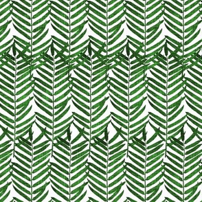 Luxe Palm Leaf (EMERALD) SML