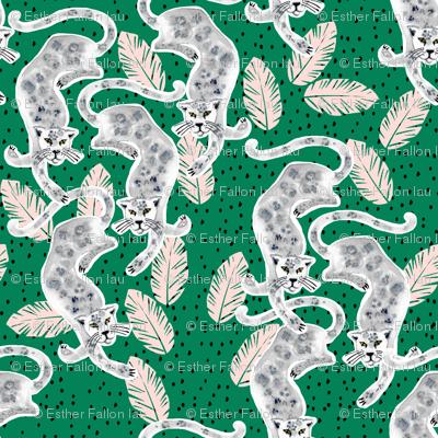 Tropicana Jaguar (emerald) UPHOLSTERY SIZE
