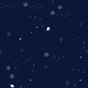 Indigo Galaxy