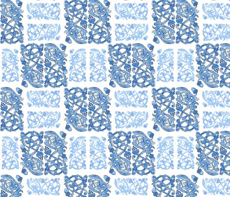 Tudor England Pattern fabric by art_by_kathryn on Spoonflower - custom fabric