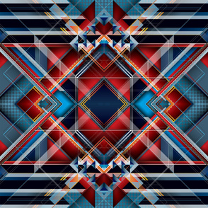 J Series 216 Abstract Pattern Design
