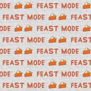 Feast Mode // Mojo Red