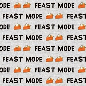 Feast Mode // Black