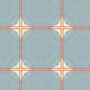 Dot Squares M+M Slate by Friztin
