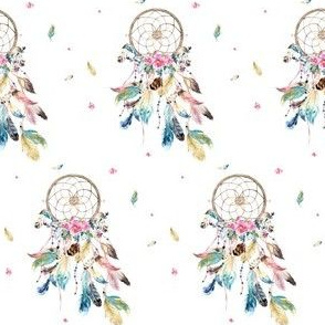 "3"" Bohemian Dreams Free Falling Florals"