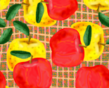 Rred-and-yellow-apples-on-peach-and-green-mesh_thumb