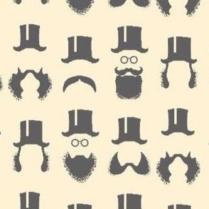 Victorian Men's Facial Fashions
