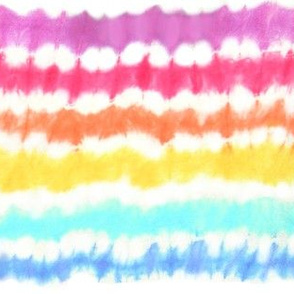 1960's Endless Tie Dye Rainbow