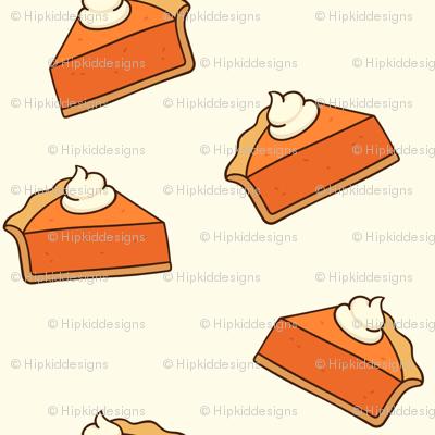 Pumpkin Pie // Buttery White // Small