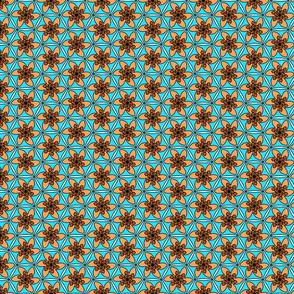 pumpkin blossom tile
