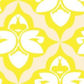 GARDEN DAMASK yellow