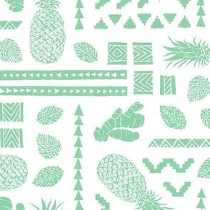 Pineapple Ginger Mint [positive]