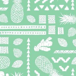 Pineapple Ginger Mint [negative]