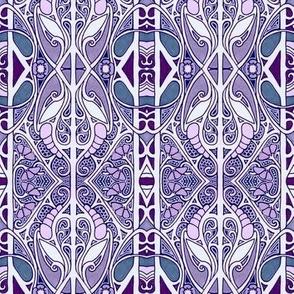 Purple Nouveau Lace Place